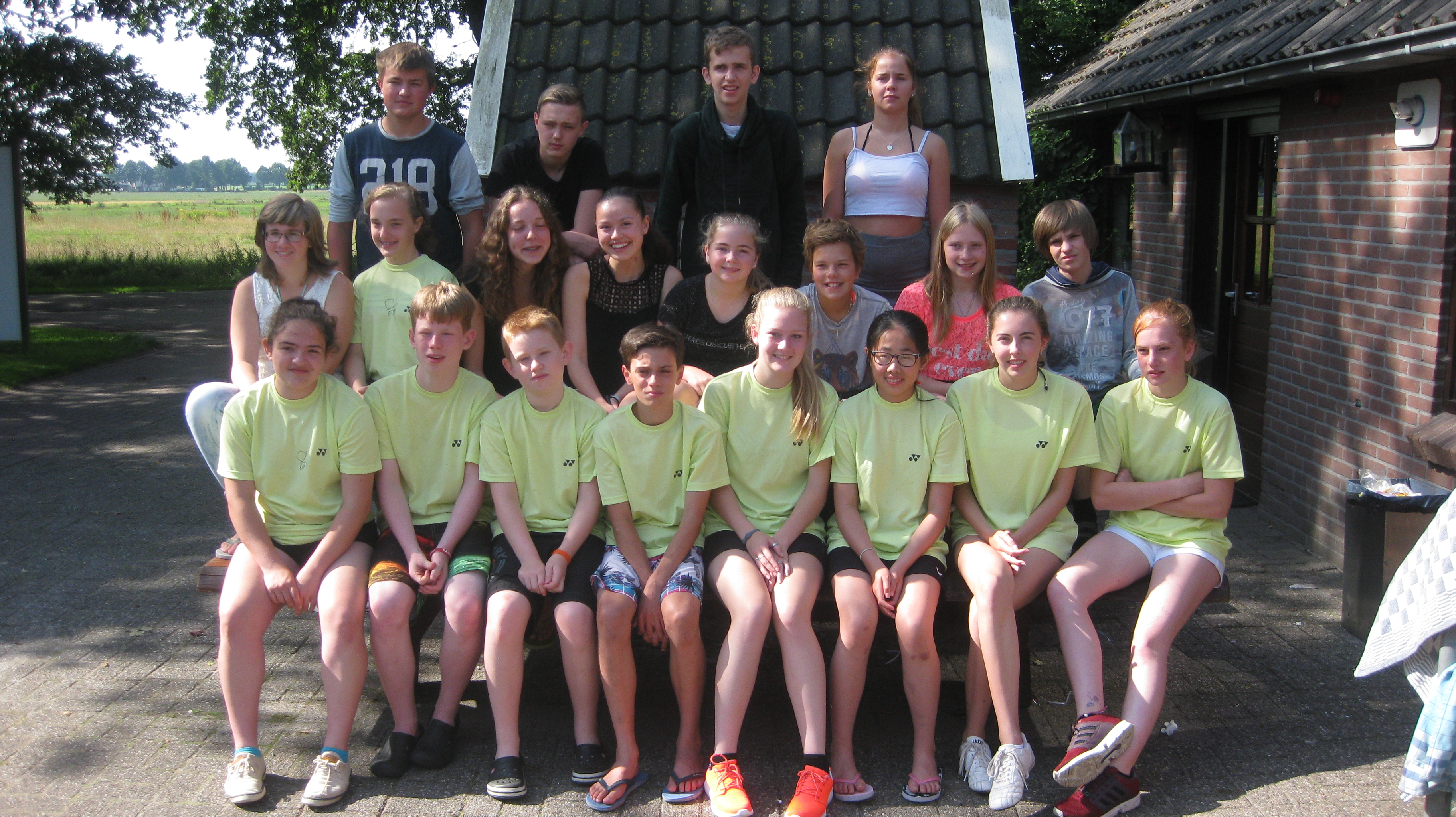 2015 – Badmintonkamp Borger